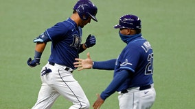 AL East-leading Rays beat Orioles 4-3 with Perez homer in 8th