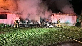 HCFR: 7 children, 4 adults escape house fire caused by burning candle