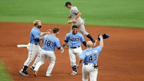 Perez has RBI single in 9th, Rays rally to beat New York Yankees 4-3
