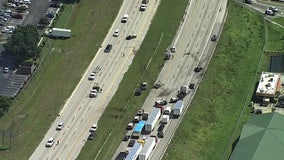 FHP: 2 killed, 1 seriously injured in multi-vehicle crash on I-4 that closed highway for five hours