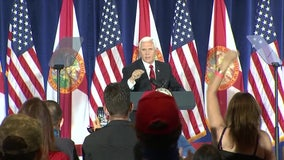 Campaign stop brings VP Mike Pence to Clearwater