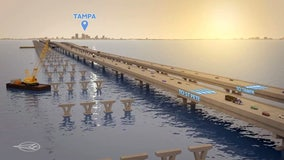 Governor touts benefits of planned Howard Frankland project