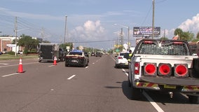 Woman in wheelchair struck by vehicle in Pasco County