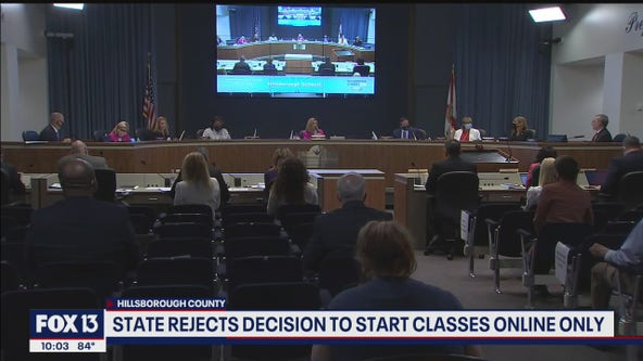 State, Hillsborough education officials face-off over opening schools