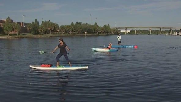 Go on a paddleboarding adventure with Urban Kai