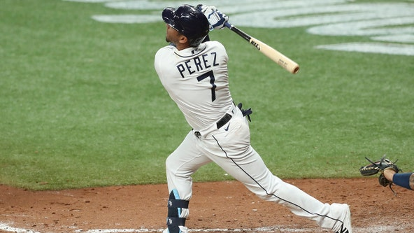 Perez hits sac fly in 8th; Rays beat Yankees 1-0