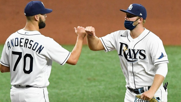 Meadows hits 2 in return from virus, Rays top Red Sox 5-1
