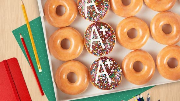 Krispy Kreme offering free coffee, doughnuts for teachers next week