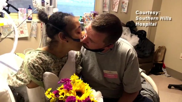 Terminally ill woman fulfills dying wish, marries her boyfriend