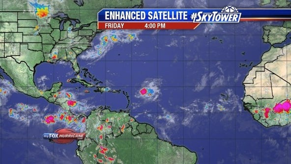 Tropical Storm Kyle forms off U.S. coast; no threat to land