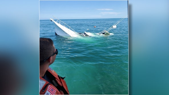 Coast Guard rescues 2 boaters off Anna Maria Island