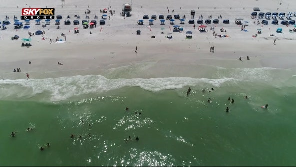 Sandy shores of Clearwater Beach continues to be a much-needed escape for all