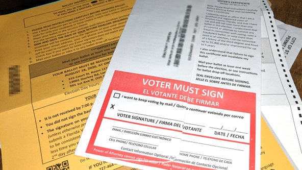 First Florida mail-in ballots being sent to voters this week