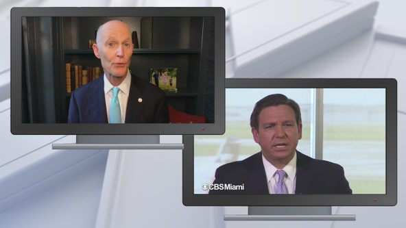 Sen. Scott: 'Quit blaming others' to DeSantis, who says $78M CONNECT website had built-in roadblocks
