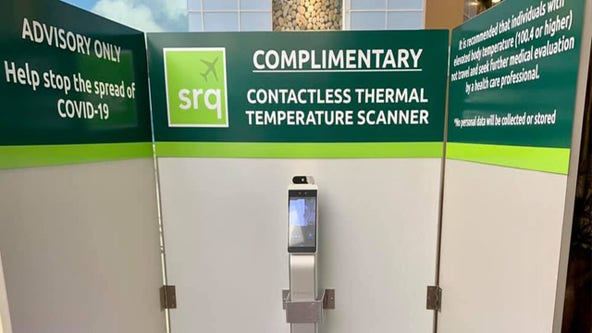 New temperature scanners arrive at Sarasota-Bradenton International Airport