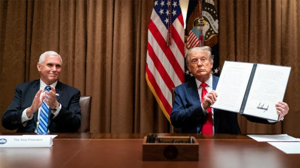 Trump signs executive order barring federal agencies from replacing Americans with foreign workers