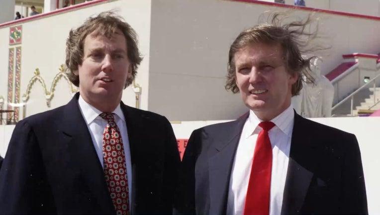 Robert Trump with brother Donald Trump