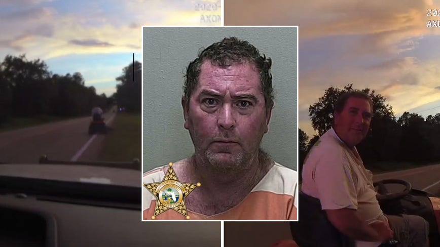 Florida man caught driving lawnmower on highway arrested for DUI