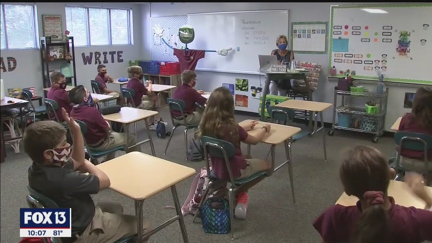 Some Bay Area students back to classroom, others wait for plan