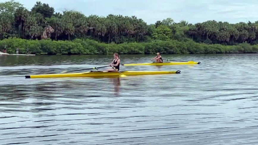 Parents help school rowing team stay afloat during COVID-19 pandemic