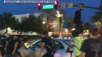 Confrontations occur during St. Pete protests