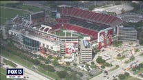 First Bucs home game looks different this year