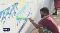 St. Pete students become mural artists