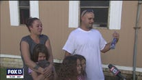 Community helping family devastated by lightning fire