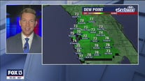 Saturday evening weathercast