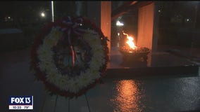 In Palm Harbor, Sept. 11th survivor calls for unity, giving
