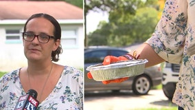 With her own struggles during pandemic, Feeding Tampa Bay client pays it forward