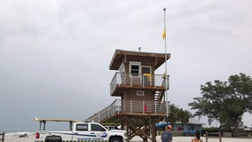 Manatee County installs lightning protection system on lifeguard towers