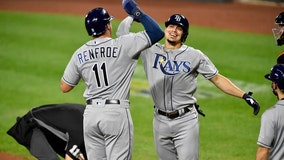 Rays secure AL playoff spot after doubleheader sweep of Orioles