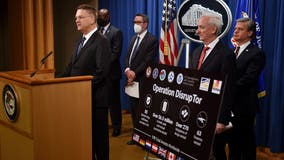 'Darknet' opioid takedown nabs 179 suspects worldwide and $6.5M seized, DOJ announces