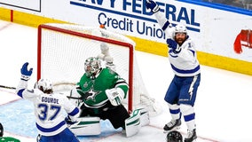 Shattenkirk's OT goal puts Lightning up 3-1, on verge of Cup
