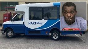 Hillsborough deputies arrest man accused of carjacking HART van driver