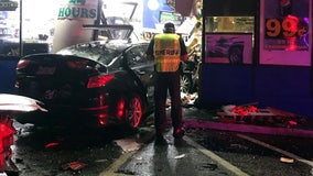 Car slams into Winter Haven gas station shop, killing customer inside