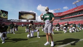 USF football team reports first coronavirus case, ending 40-day streak of negative tests