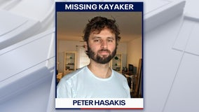 After daylong search, missing kayaker turns up 'alive but disoriented'