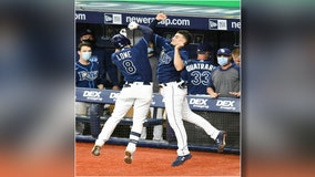 Lowe and Meadows hit home runs, Tampa Bay Rays beat Red Sox 5-4