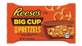 Reese's to sell 'salty' peanut butter cups with pretzels