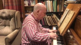Father with dementia can still improvise and compose beautiful music, son's video shows