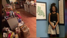 Tampa teen uses birthday to collect donations for needy families