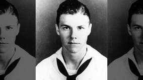 Remains of USS Oklahoma sailor killed in Pearl Harbor identified, to be buried in Texas