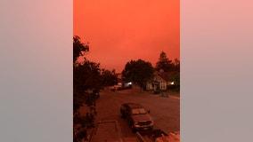 Dramatic photos: California residents wake up to raining ash and smoke-filled skies