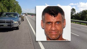 Florida man wanted for beating wife after I-75 tire blowout, troopers say