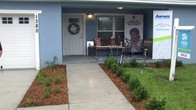 Pinellas mom gets extra surprise on Habitat for Humanity move-in day
