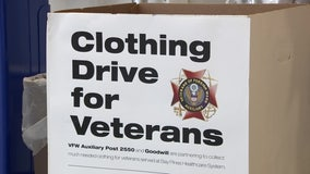Pinellas County VFW collecting clothing for veterans in need