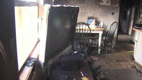 Lightning strike causes fire, destroying Zephyrhills family's home