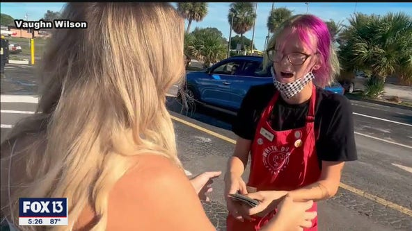 Beaming barista gets $2,000 tip, thanks to 'Venmo Challenge'